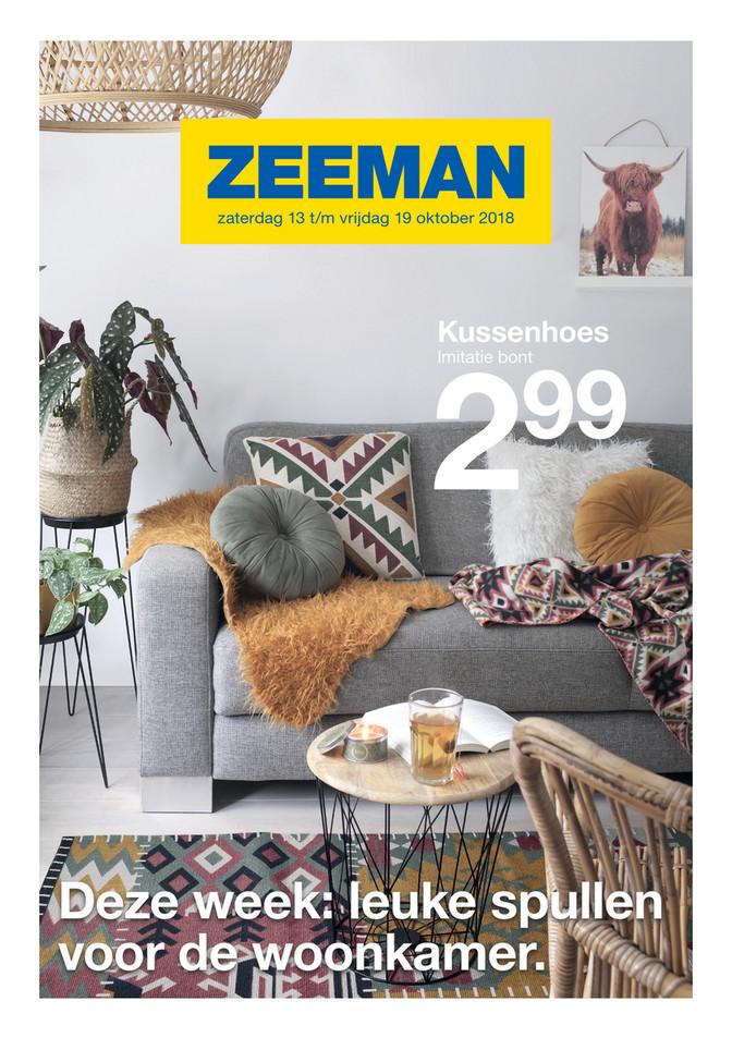 Zeeman folder van 13/10/2018 tot 19/10/2018 - Weekpromoties 42
