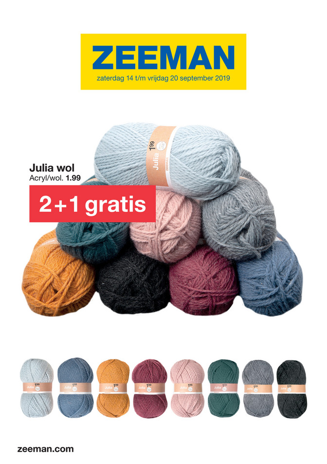 Zeeman folder van 14/09/2019 tot 20/09/2019 - Weekpromoties 38