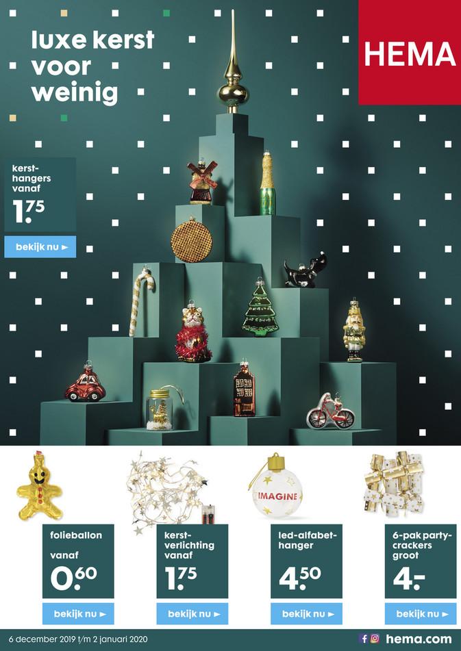Hema folder van 06/12/2019 tot 02/01/2020 - Kerst