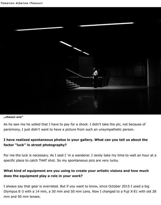 Ko Zushi Photography - EYE Photo Magazine - May, 2016 : IN
