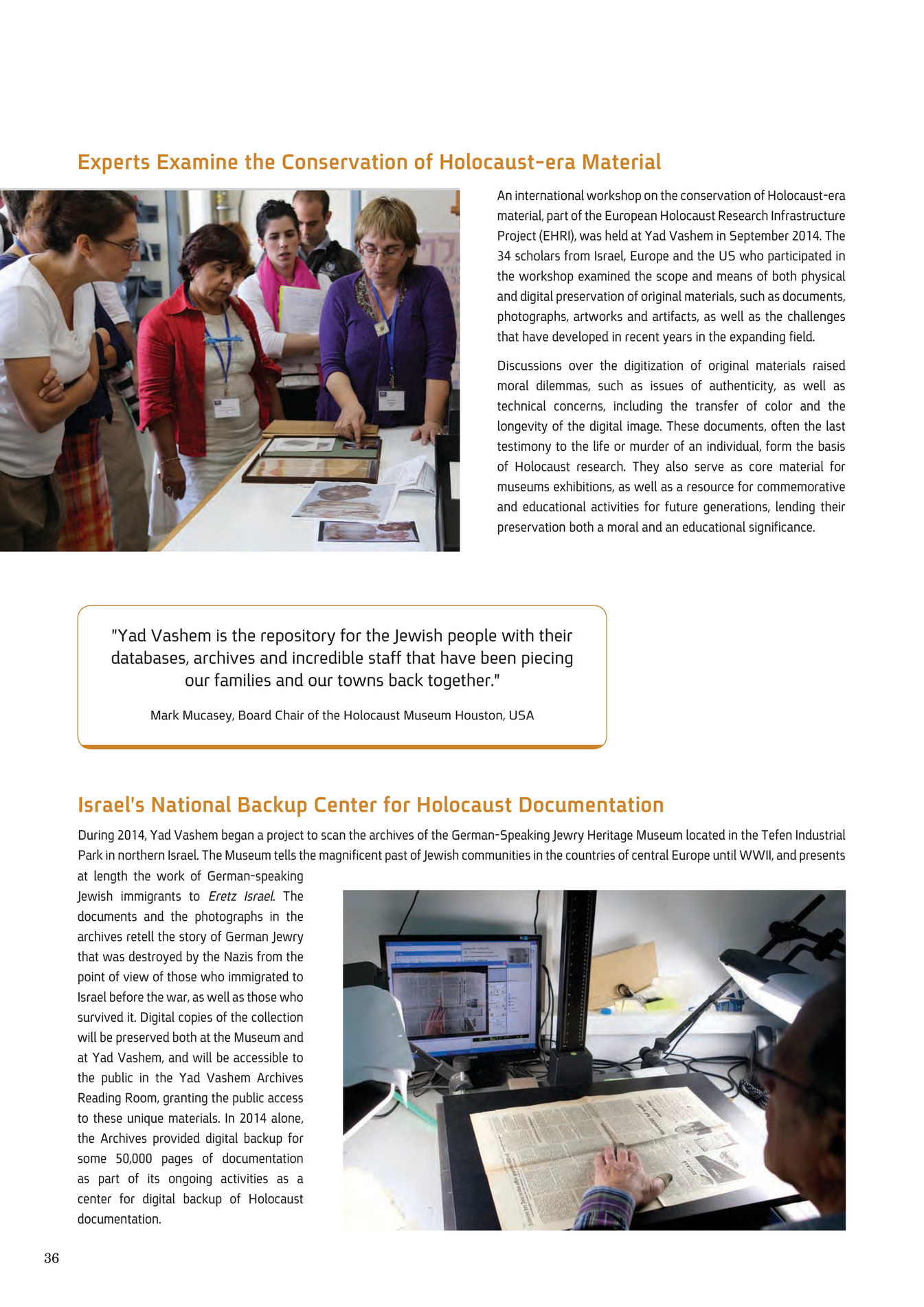 Yad Vashem Yad Vashem Annual Report  Page  Created - Concentration camp museums in usa