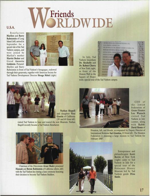 Yad Vashem - Yad Vashem Magazine #43 - Page 16-17 - Created with