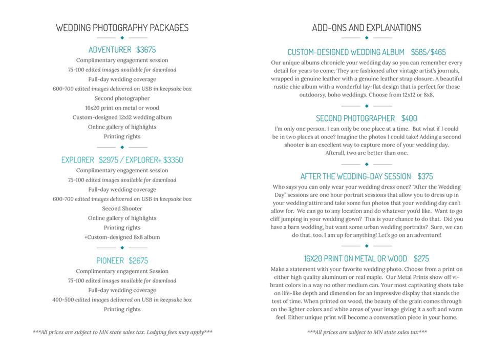Cordelia Haugen: Photographer - 2018 wedding pricing - Page