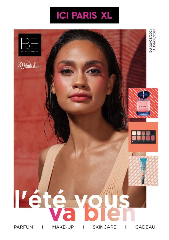 Folder ICI PARIS XL du 02/08/2021 au 31/08/2021 - Promotions du mois aout