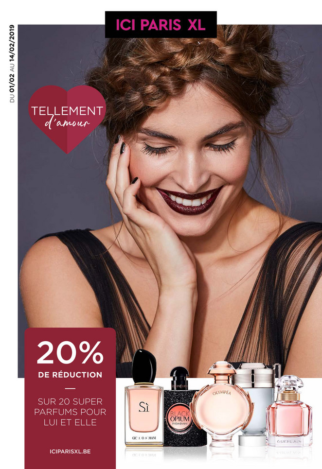 Folder ICI PARIS XL du 01/02/2019 au 14/02/2019 - Promotions de la semaine 6