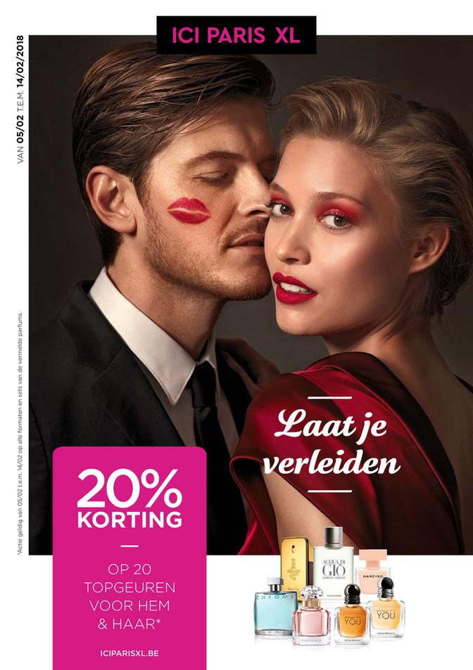 ICI PARIS XL folder van 02/02/2018 tot 14/02/2018 - Valentijn Laat je verleiden
