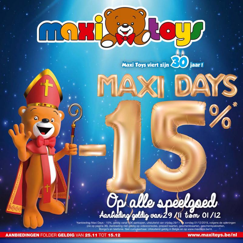 Maxi Toys folder van 25/11/2019 tot 15/12/2019 - Sint
