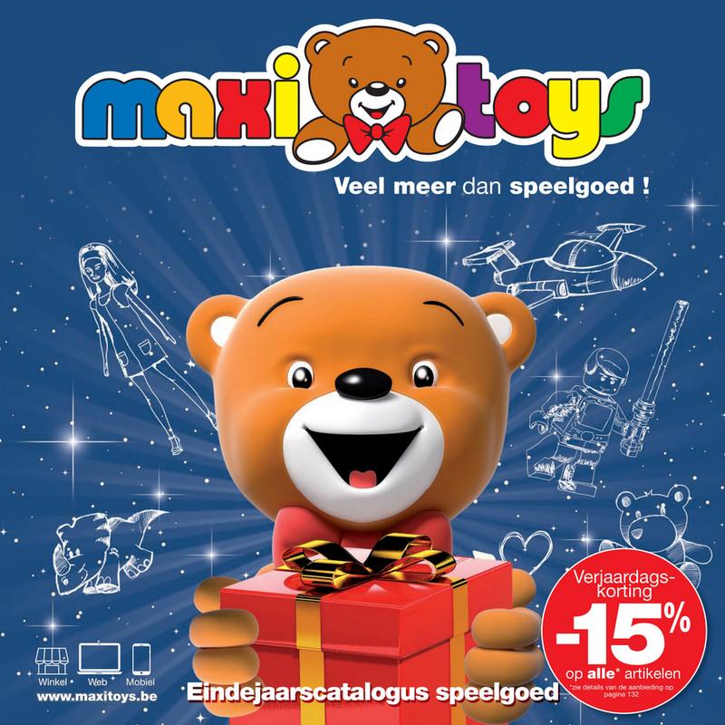 Maxi Toys folder van 01/10/2018 tot 31/10/2018 - Maandpromoties