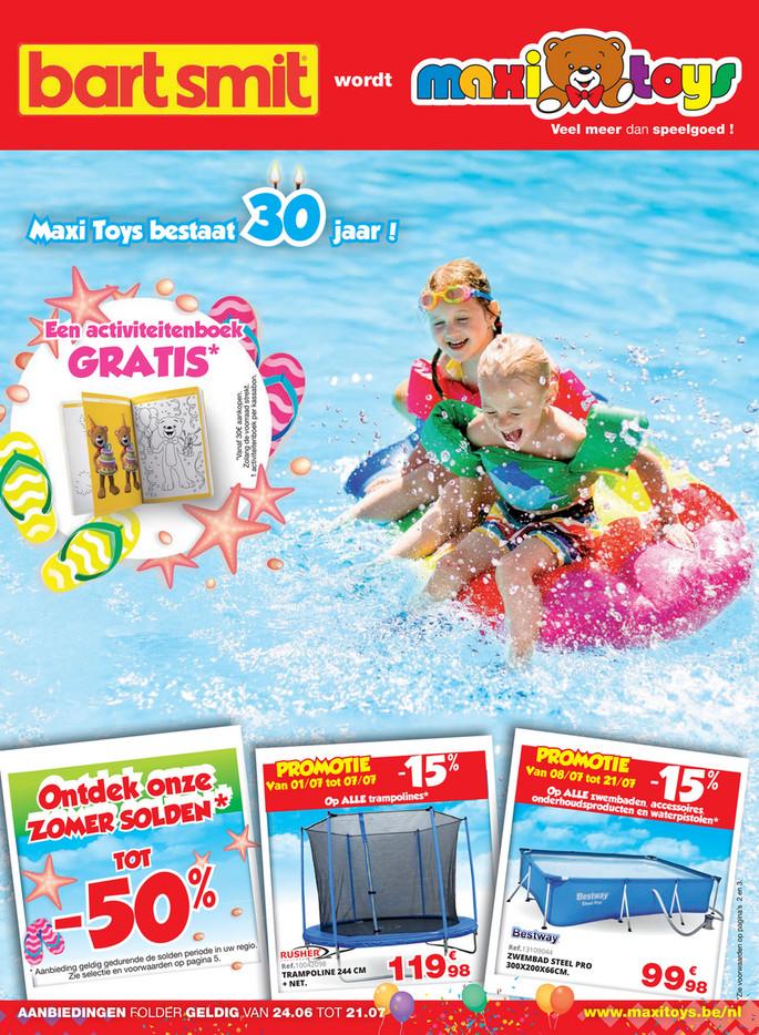 Maxi Toys folder van 24/06/2019 tot 21/07/2019 - Maandpromoties
