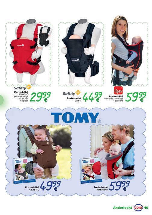 ... Bébé se promène Porte-bébé MIMOSO Existe en rouge ou en noir La pièce 29 8f24860febb
