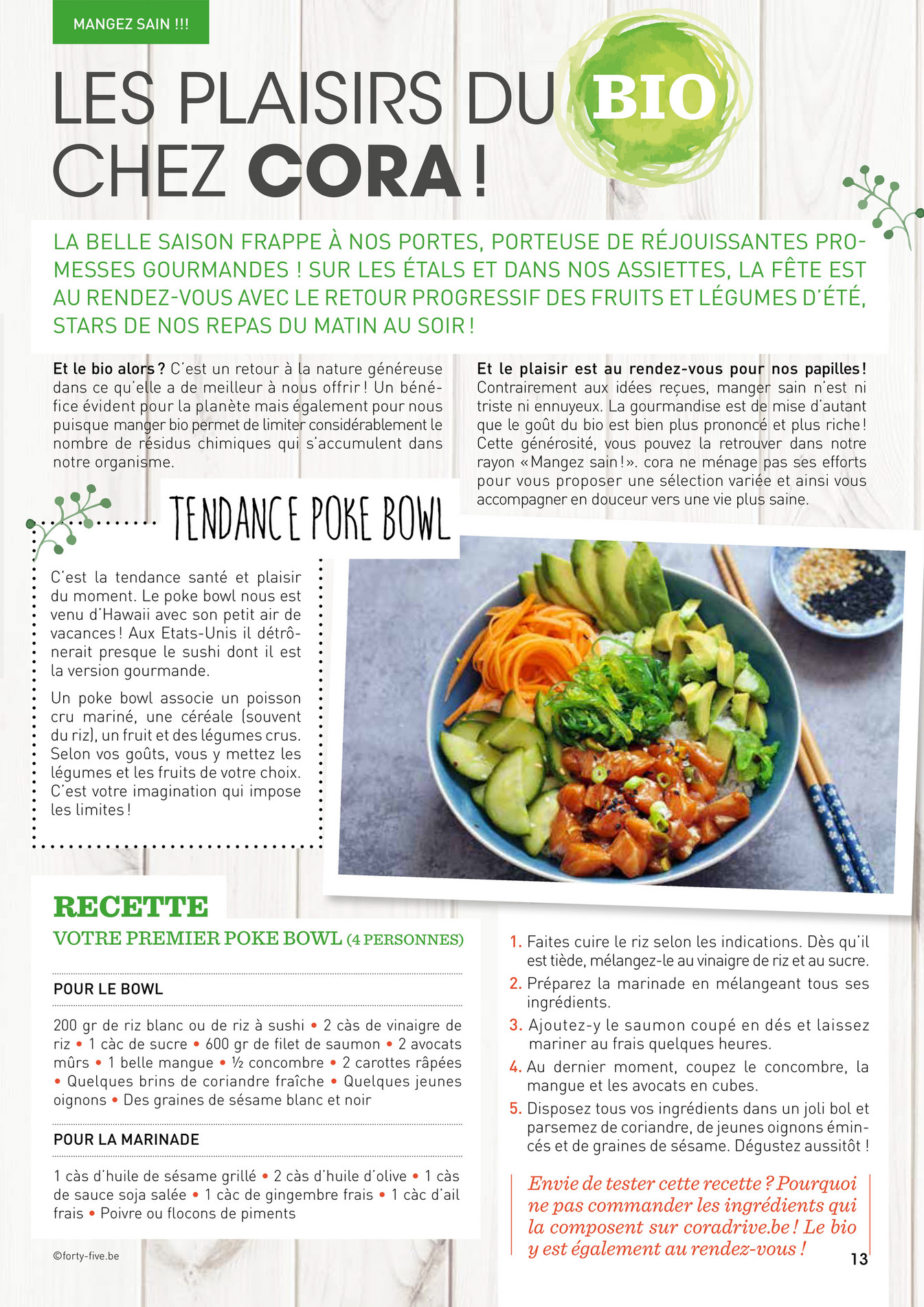 Cuisine Avec Retour Pour Manger cora - pages de coramag_n1_web - page 1