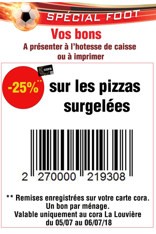 Carte Cora La Louviere.Cora Ll Emailing Pizza Bon Page 1