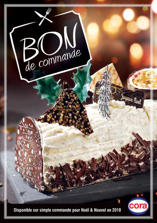 Cora Menu De Noel.Cora Bon De Commande Buches Au Cora Messancy Page 1