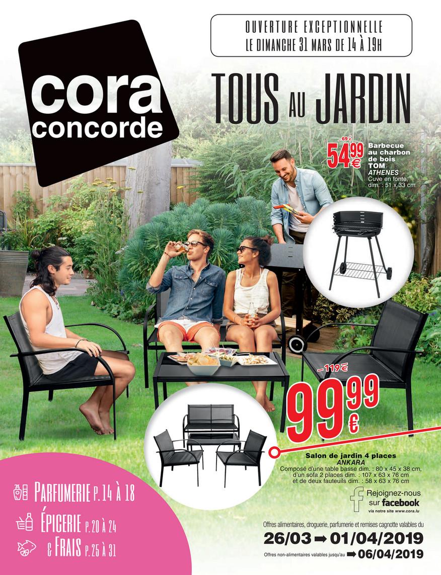 cora - 2603 MOBILIER DE JARDIN à cora concorde - Page 2-3