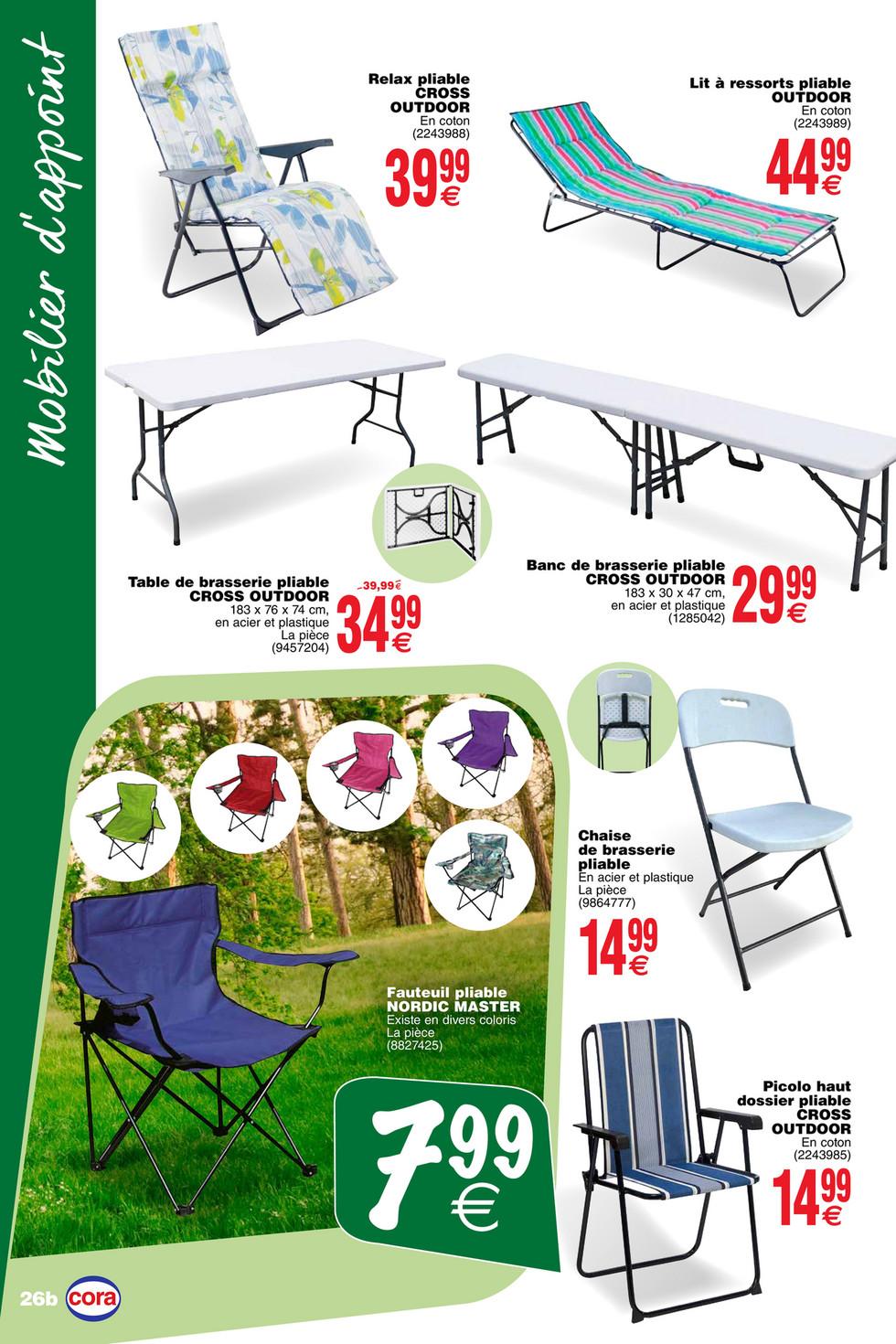 Cora - Les offres non-alimentaires chez cora 02-04 - Page 24-25