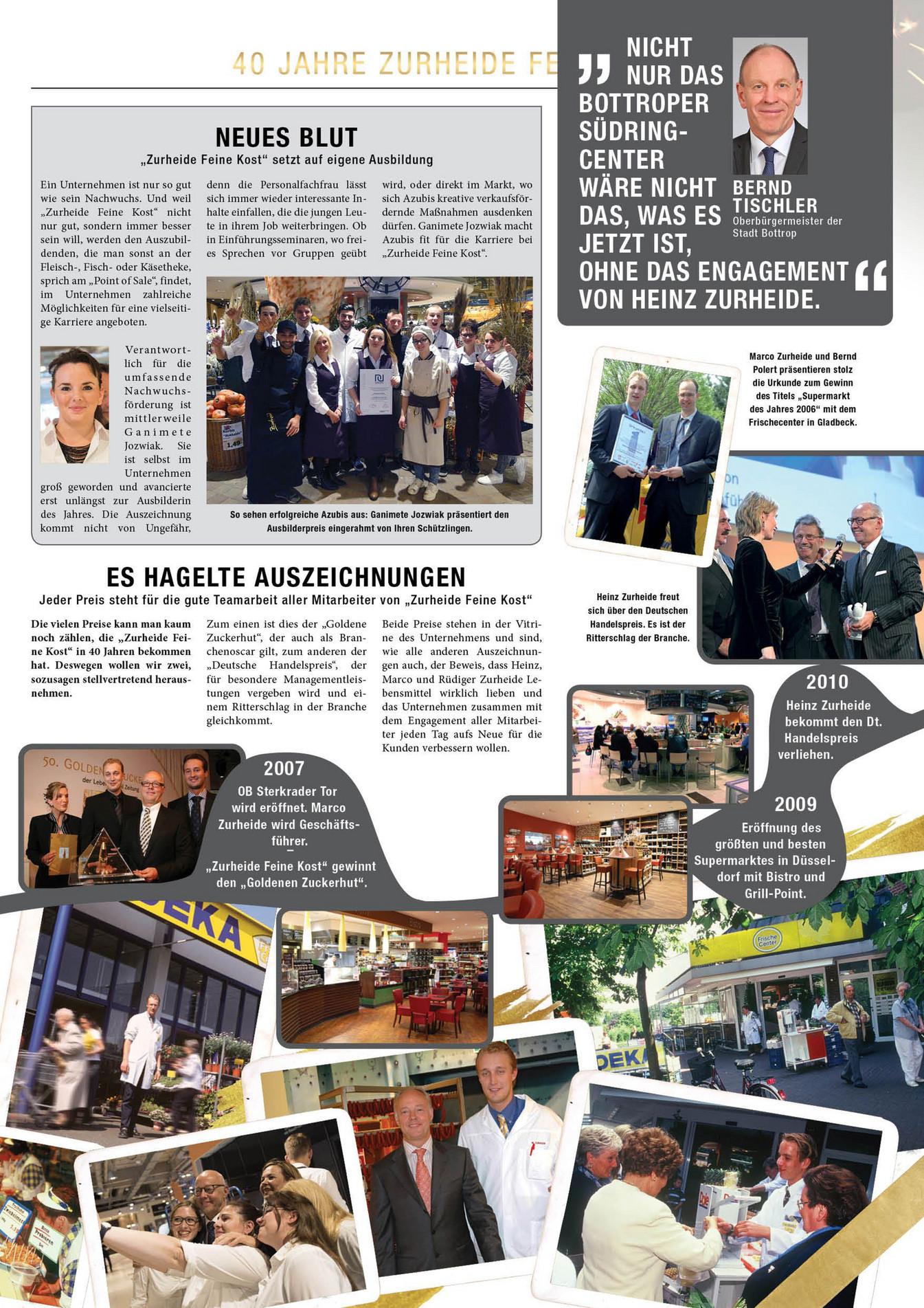 Alle Anderen 2009 none - 40 jahre zurheide feine kost - jubiläumszeitung