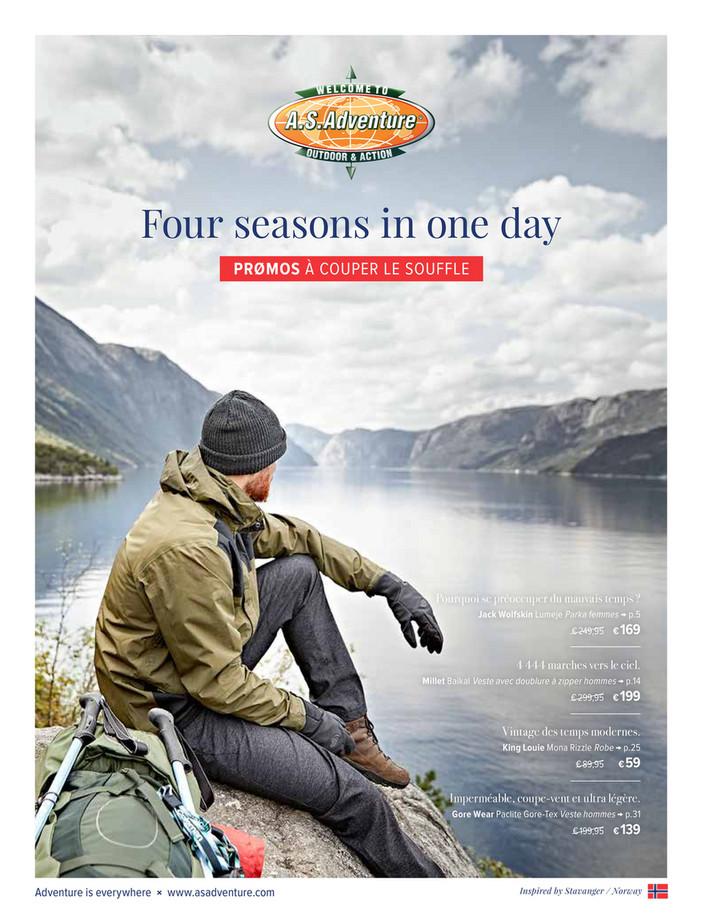 Folder A.S.Adventure du 17/10/2018 au 05/11/2018 - Dépliant d'automne