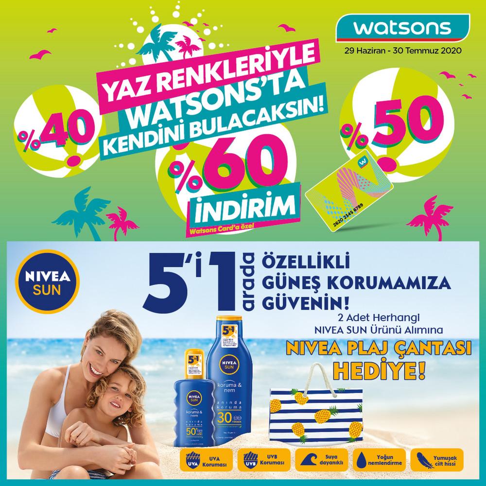 Watsons Katalog Temmuz 2020