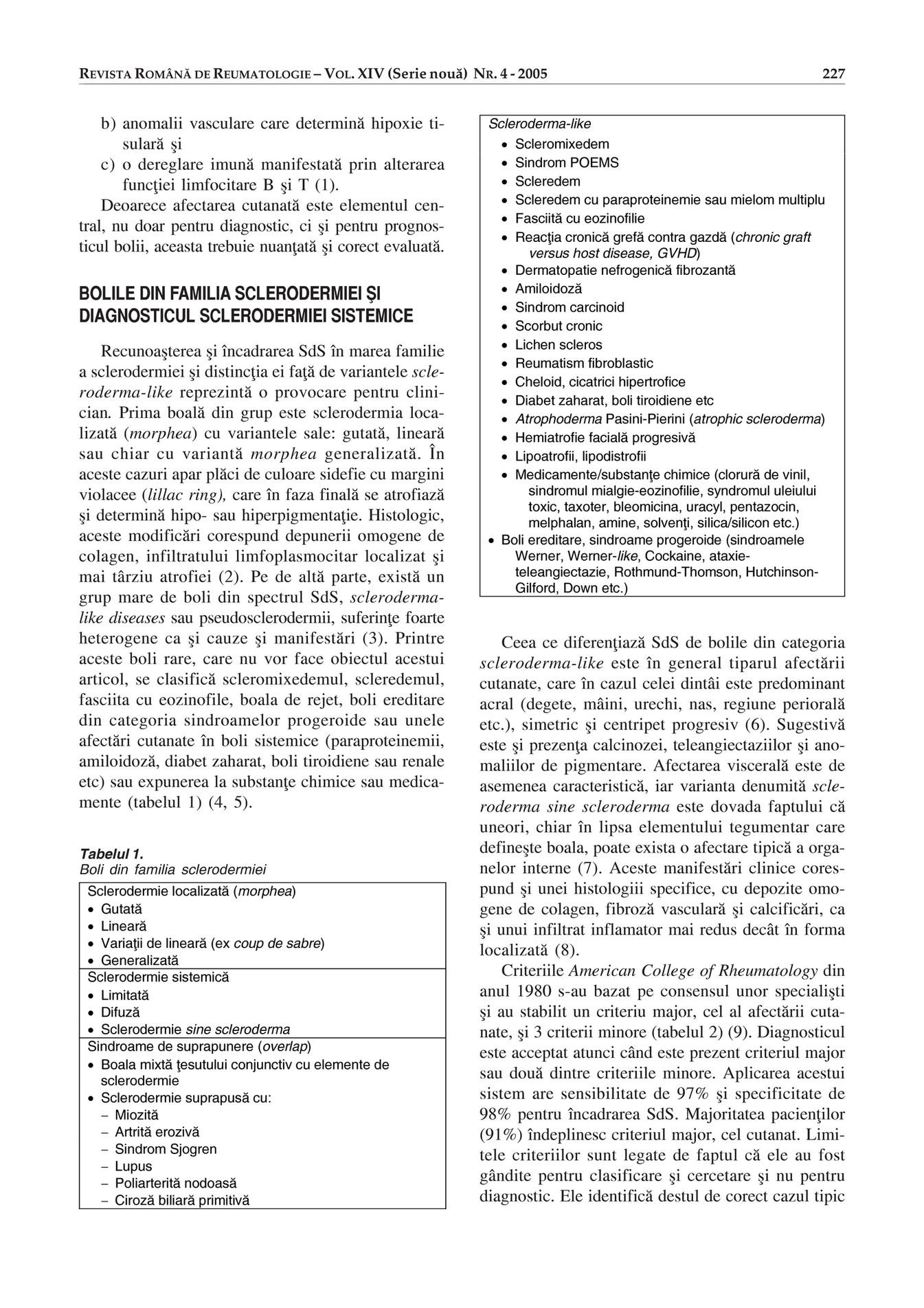 diagnostic de boală mixtă a țesutului conjunctiv