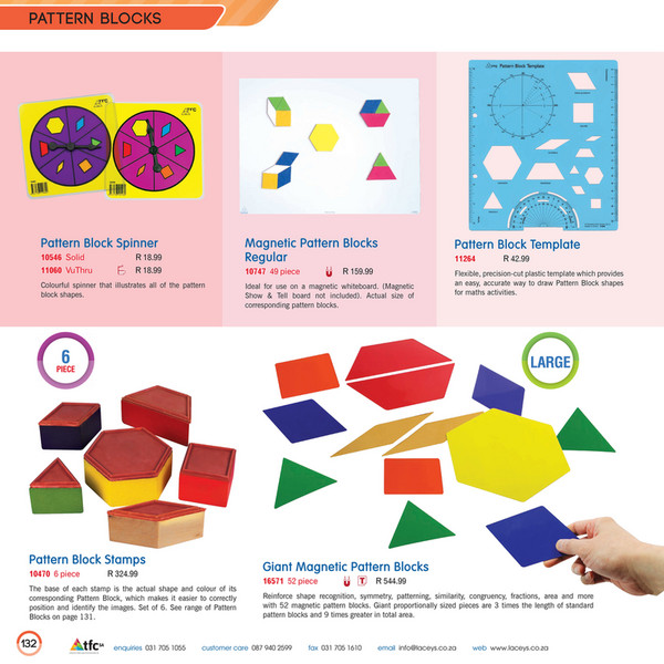 Genie Educational  Tfc Sa  Pattern Blocks  Page   Created