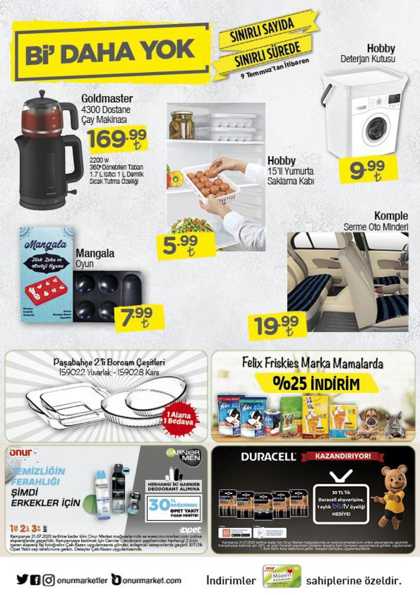 Onur Market Katalog Temmuz 2020