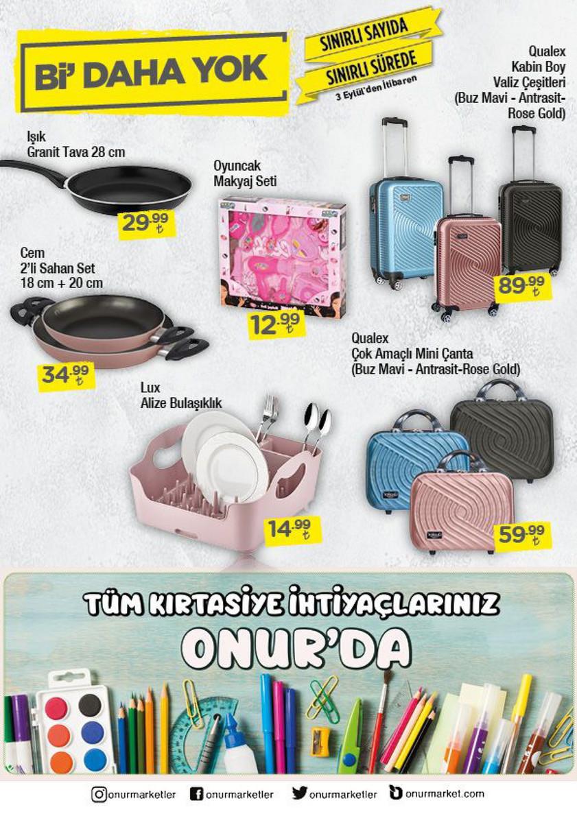 Onur Market Katalog Eylül 2020