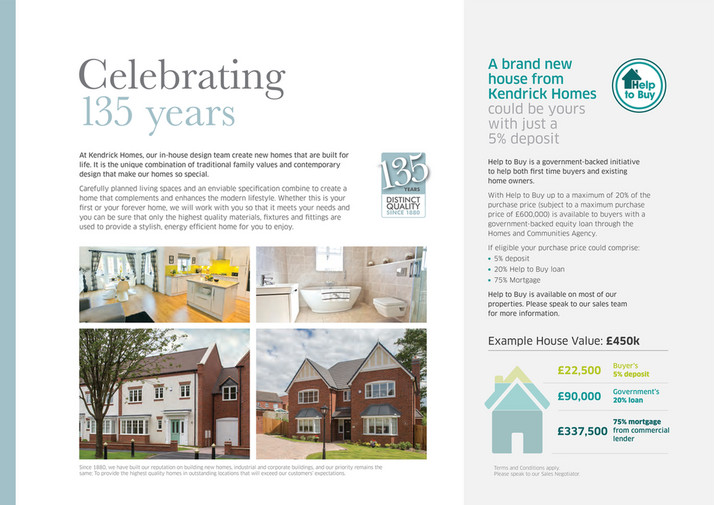 Kendrick Homes - BROCHURE The Row at Cropthorne - Page 16-17