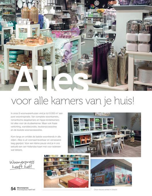 Woonexpress - Woonexpress Woonmagazine voorjaar 2015 - Pagina 54-55