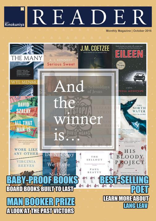 Kinokuniya E Reader October 2016 And The Winner Is Books