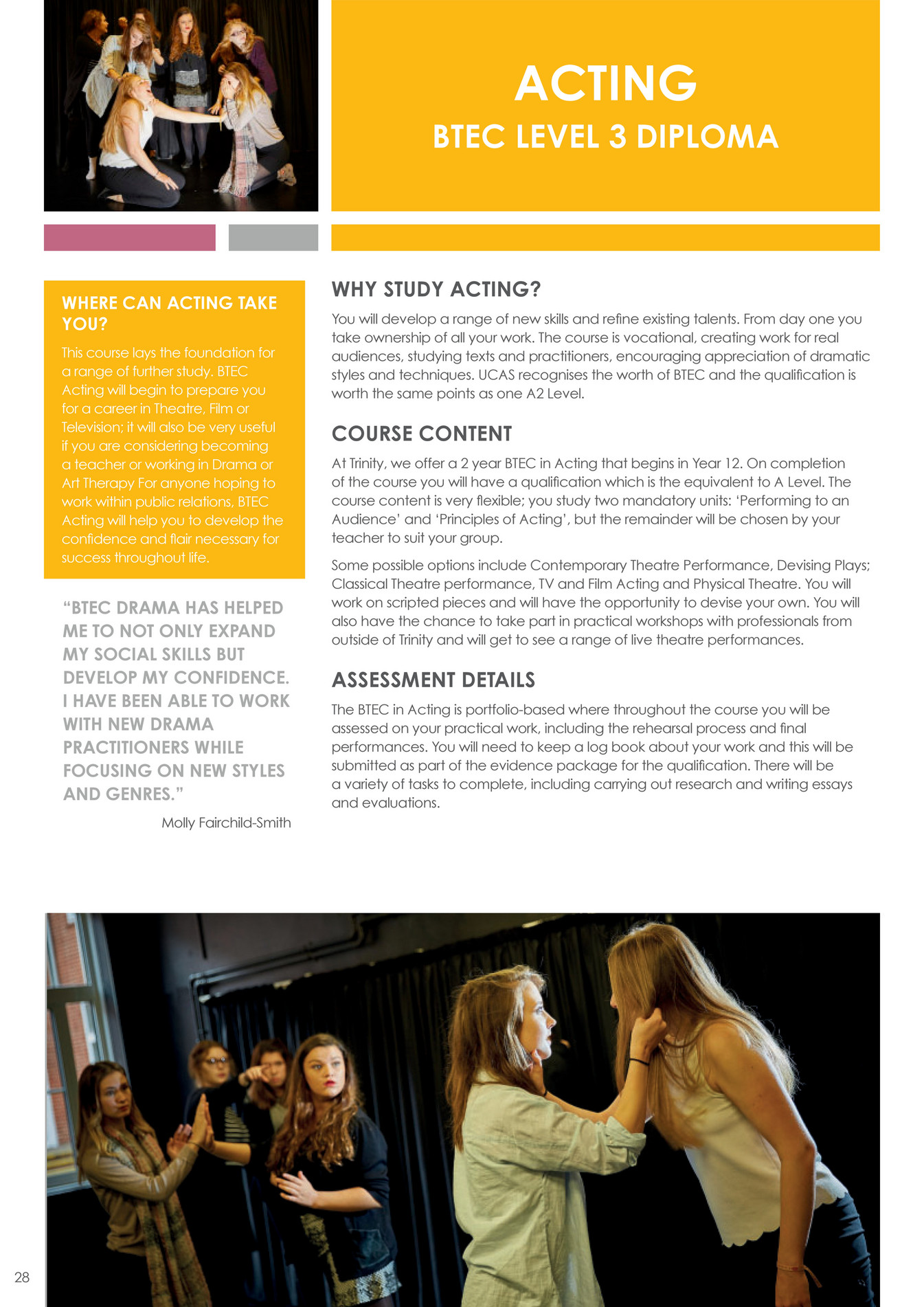 newbury academy trust trinity school sixth form prospectus 2017 a variety of tasks to complete including carrying out research and writing essays and evaluations