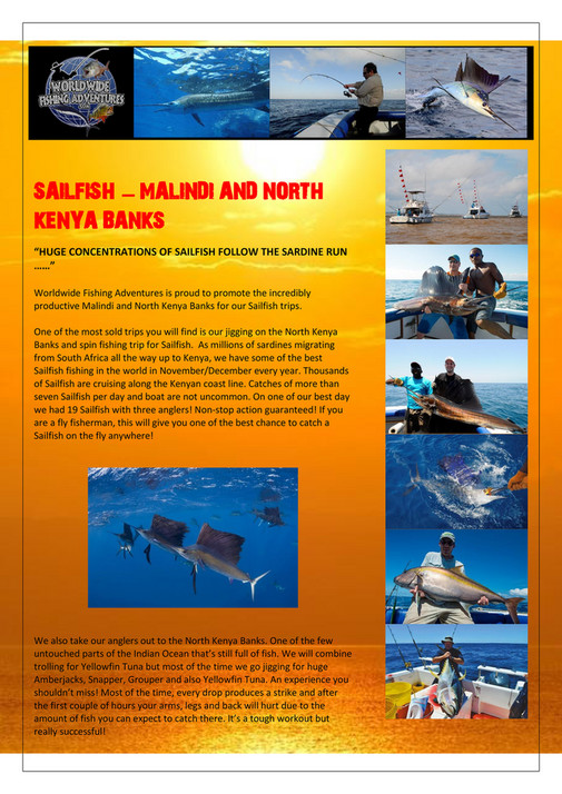 My publications - SAILFISH - KENYA - Page 1 - Created with Publitas com