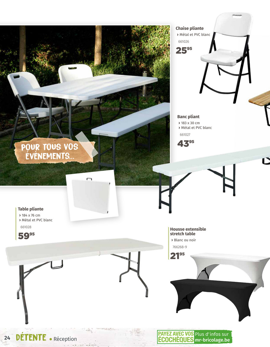 Mr.Bricolage Belgique - Guide Jardin 2019 - Page 26-27