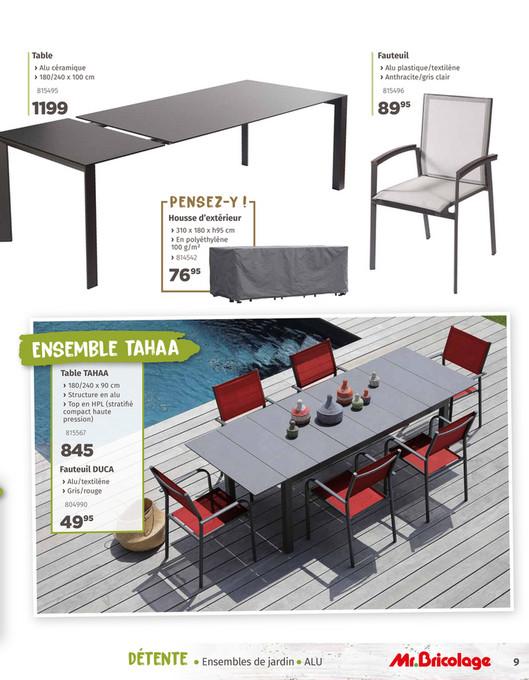 Mr.Bricolage Belgique - Guide Jardin 2019 - Page 8-9
