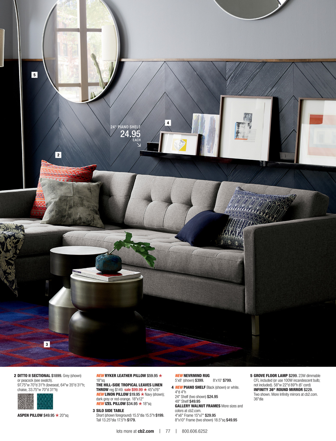Icons Test cb2 july catalog 2016 Page 76 77