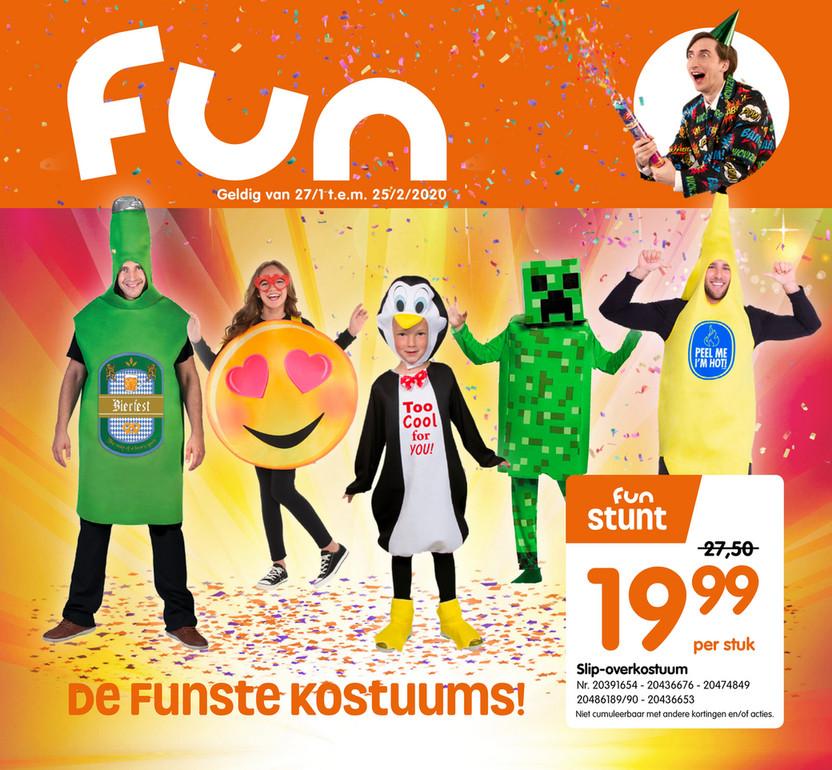 Fun folder van 01/02/2020 tot 25/02/2020 - Carnaval