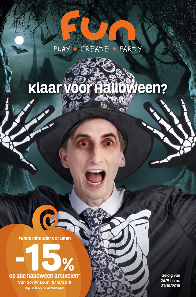 Fun folder van 26/09/2018 tot 31/10/2018 - fun halloween