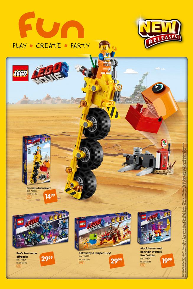 Fun folder van 01/02/2019 tot 31/03/2019 - Lego