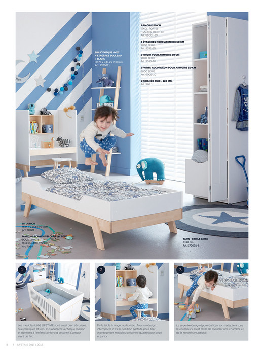 LIFETIME Kidsrooms - Catalogue F - 2017-2018 - Page 8-9 - Created ...