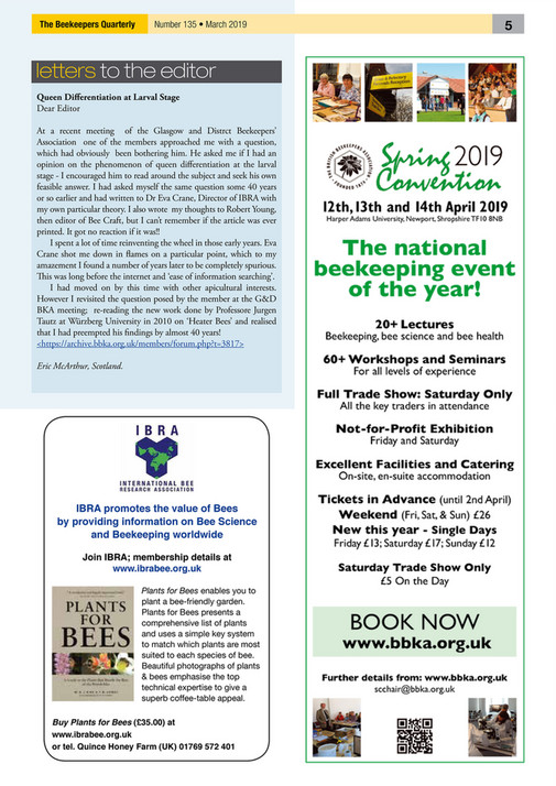 Peacock Press - BKQ March 2019 - Page 6-7 - Created with Publitas com