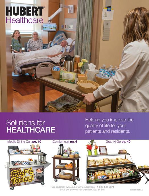 Hubert 2019 Healthcare Mini Catalog - Page 1 - Created with Publitas com