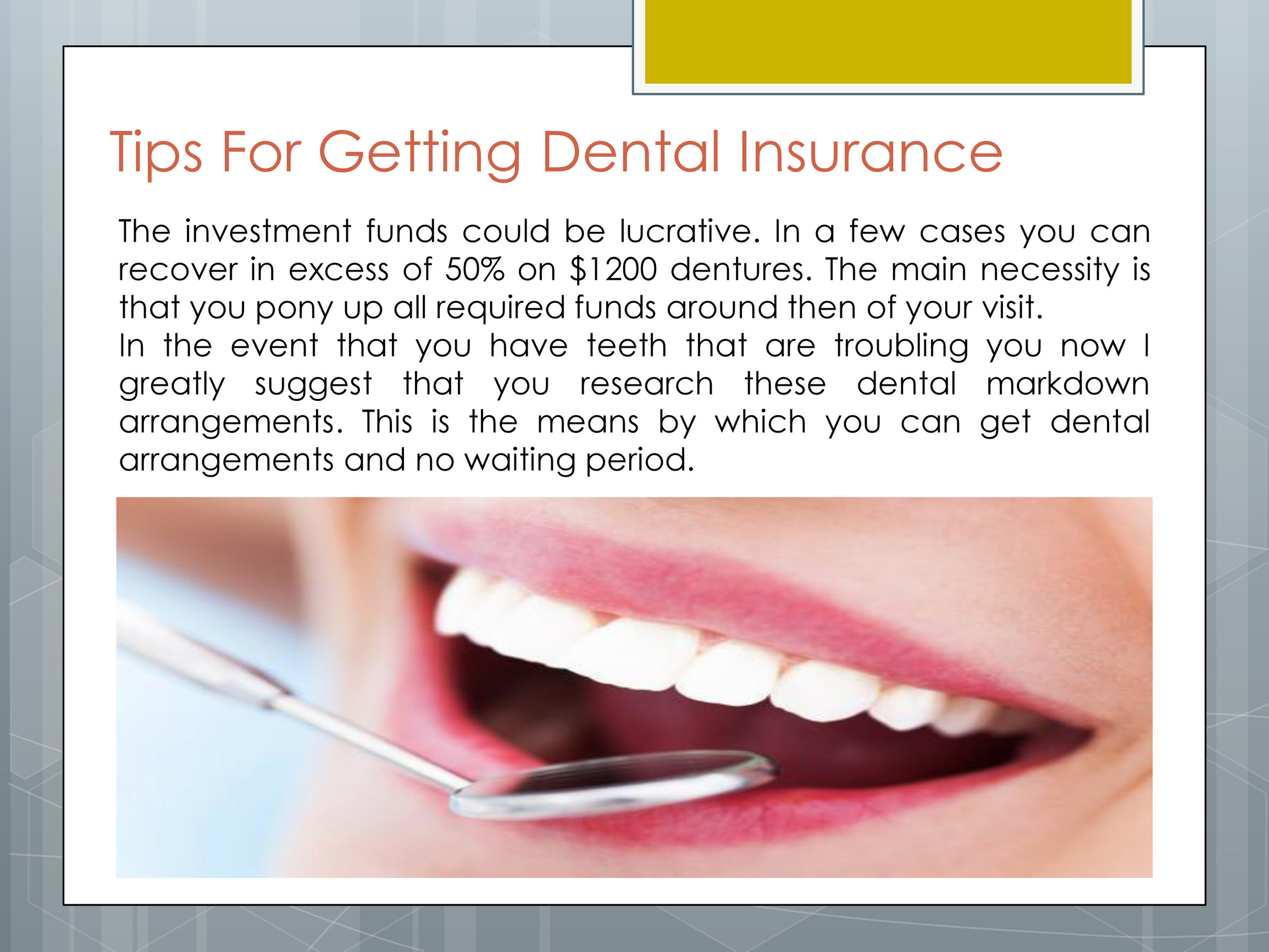 The Best Dental Insurance The Best Dental Insurance Page 4 Created With Publitas Com