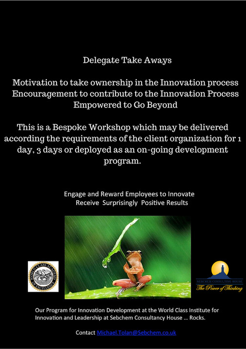 Sebchem Consultancy House - MJT Innovation Rocks - Page 4 - Created