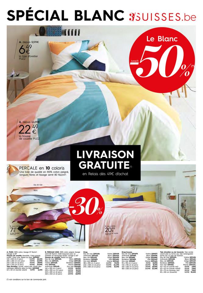 Folder 3 Suisses du 22/08/2016 au 18/09/2016 - promotions et actions - spécial blanc