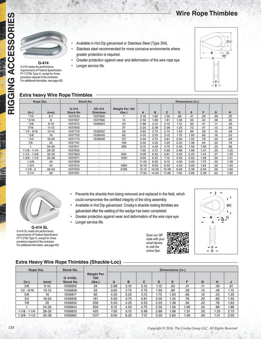 Magnificent Crosby Wire Rope Sling Capacity Chart Model - Everything ...