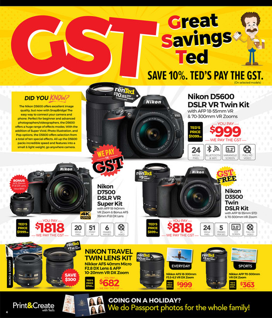 Planet Retail - Teds GST Flyer - Page 4-5