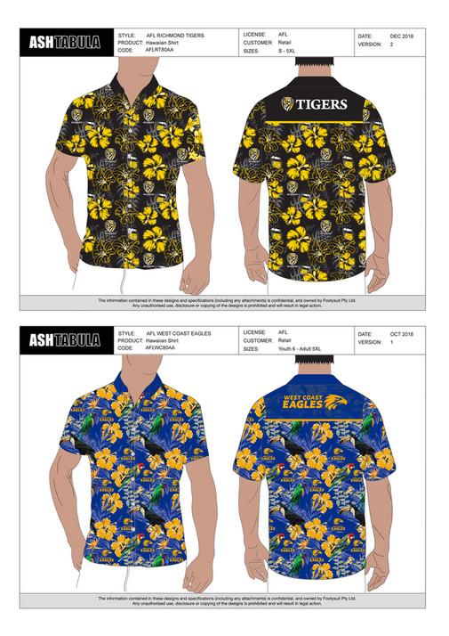 AshTabula - CATALOGUE - AFL HAWAIIAN SHIRTS - Page 1 - Created with  Publitas.com 8d415daf3