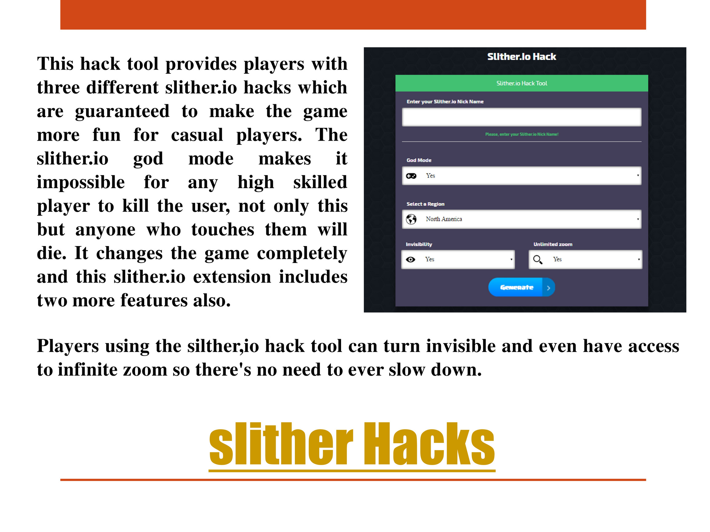 slither io hack tool - slither io Hack - Page 2 - Created