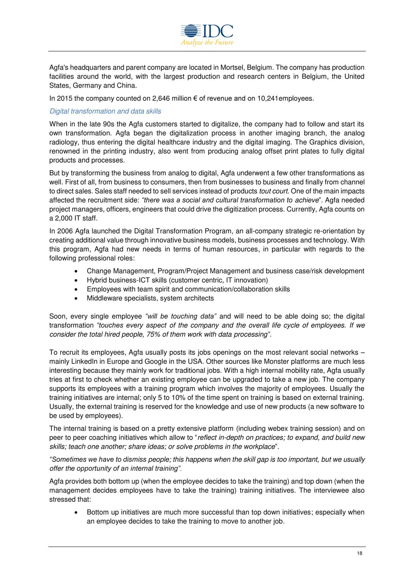 open evidence nurturing data skills to support europe s digital 18