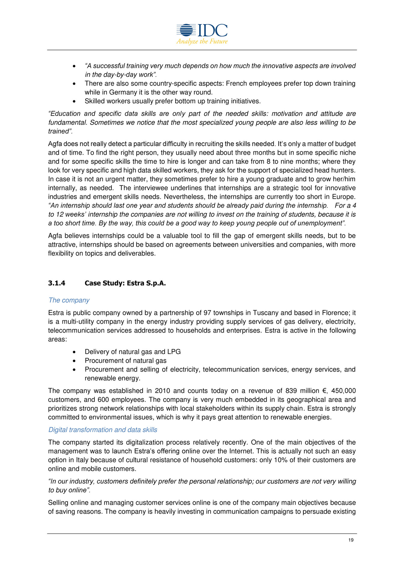 open evidence nurturing data skills to support europe s digital 19