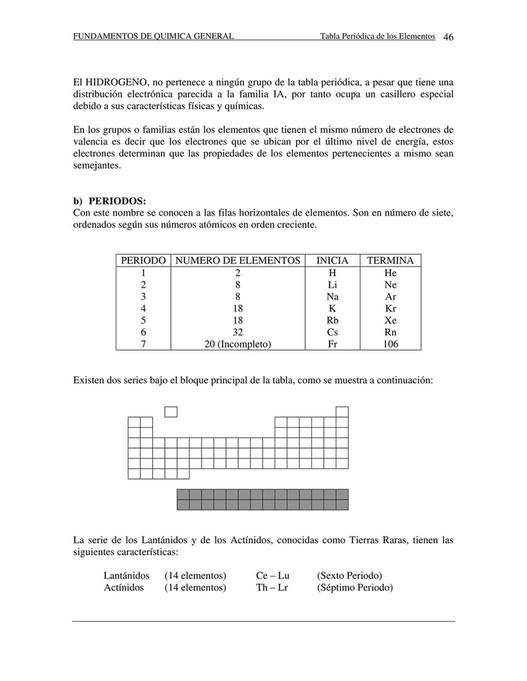 8 941 fundamentos de quimica general tabla peridica - Tabla Periodica Con Sus Valencias Y Familias